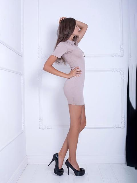 Платье бежевое Podium 5036927