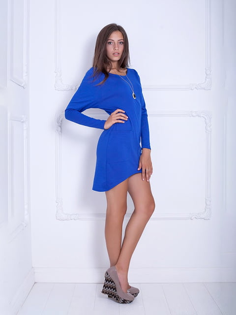 Платье синее Podium 5036934
