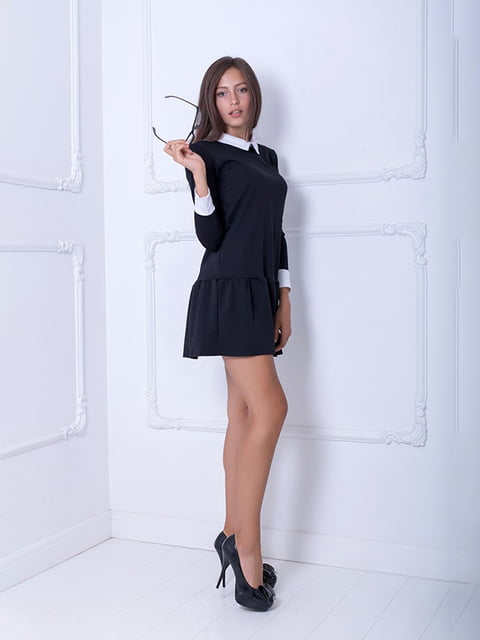 Платье черное Podium 5036986
