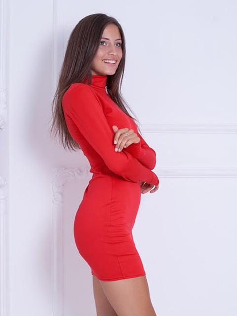 Платье красное Podium 5037015