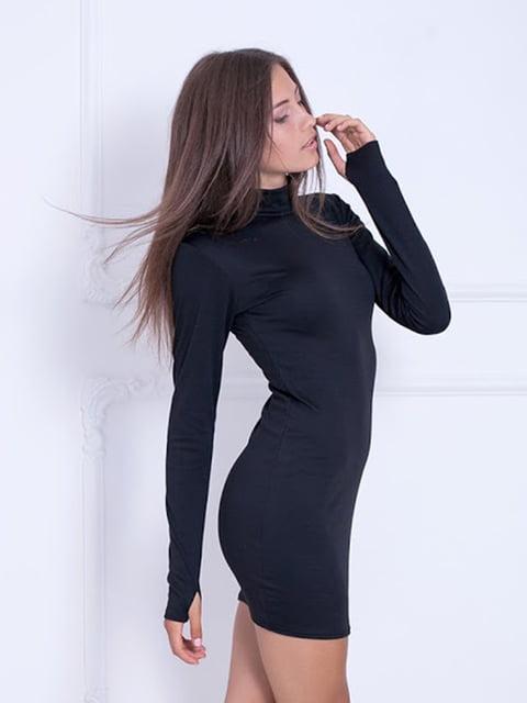 Платье черное Podium 5037017