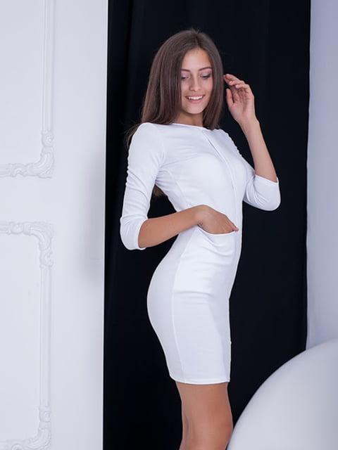 Платье белое Podium 5037019