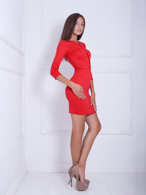 Платье красное Podium 5037020