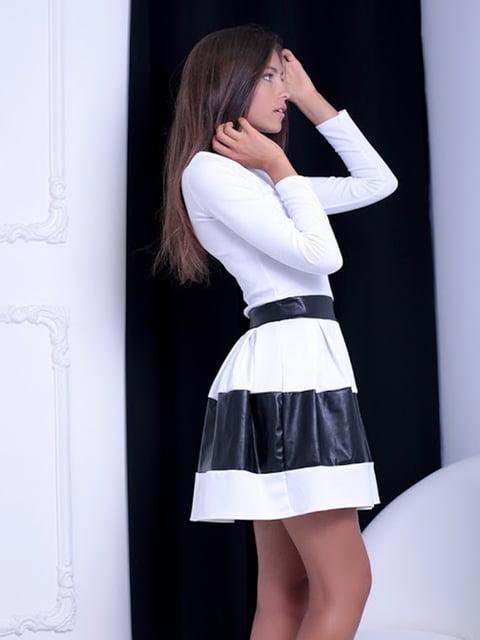 Платье двухцветное Podium 5037051