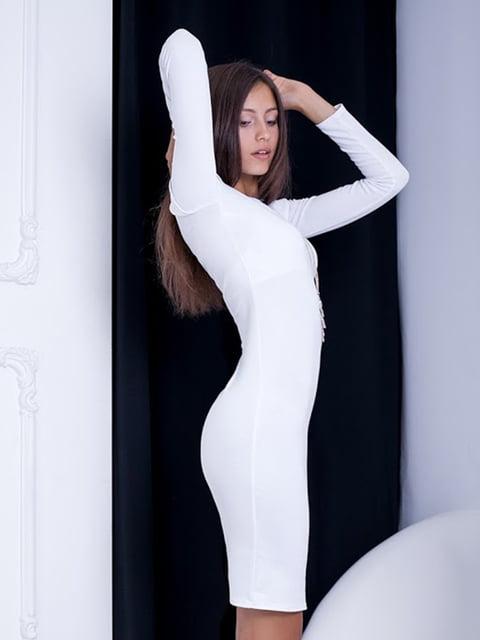 Платье белое Podium 5037055
