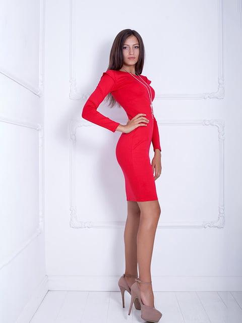 Платье красное Podium 5037056
