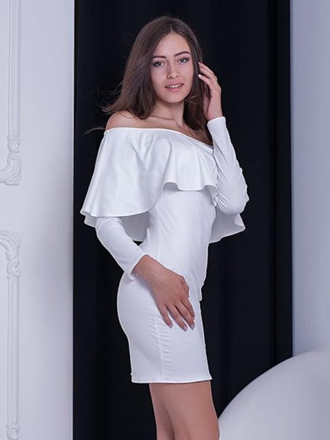 Платье белое Podium 5037059