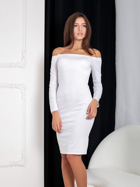 Платье белое Podium 5037067