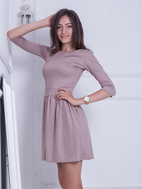 Платье бежевое Podium 5037085