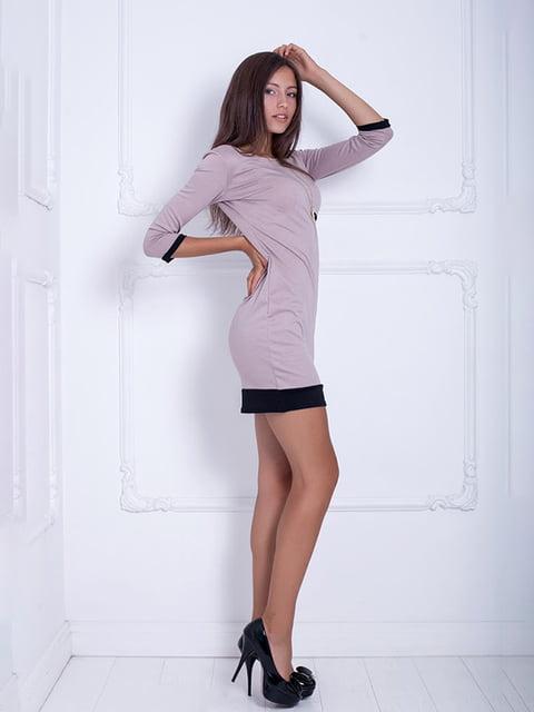 Платье бежевое Podium 5037094