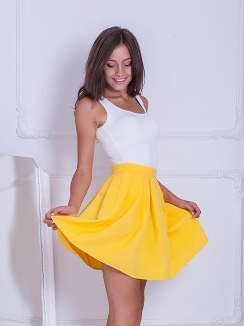 Юбка желтая Podium 5037167