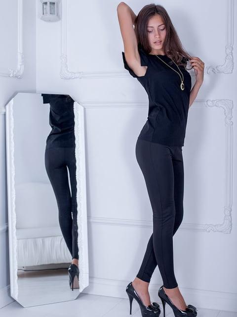 Блуза черная Podium 5037241