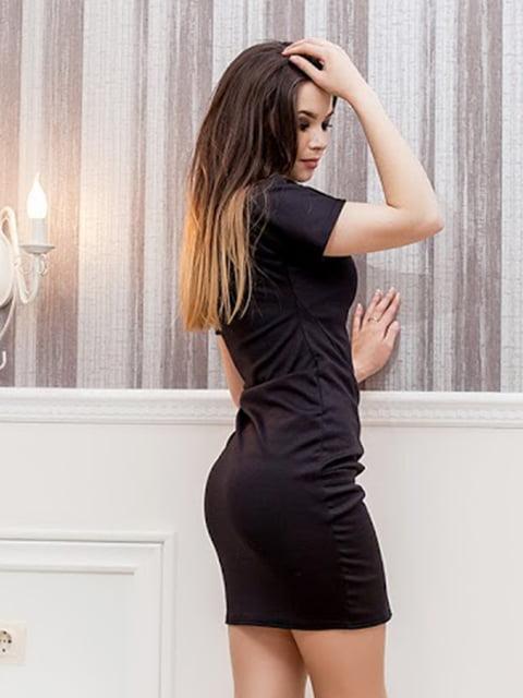 Платье черное Podium 5037281