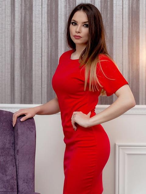 Платье красное Podium 5037282