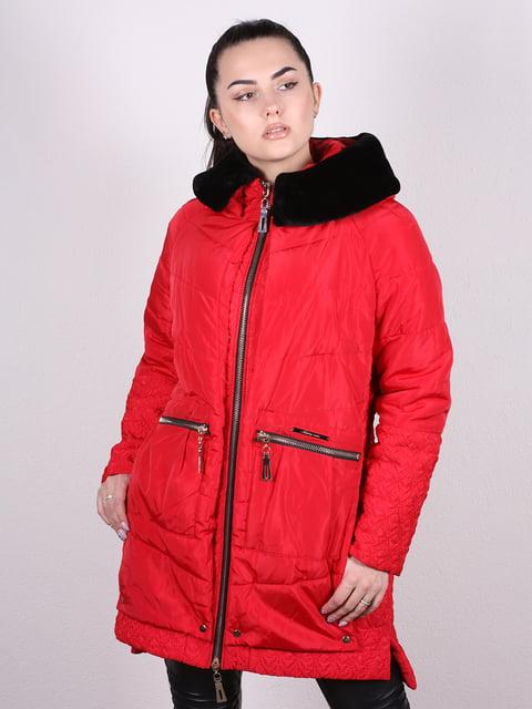 Пуховик красный Artua Collection 5034321