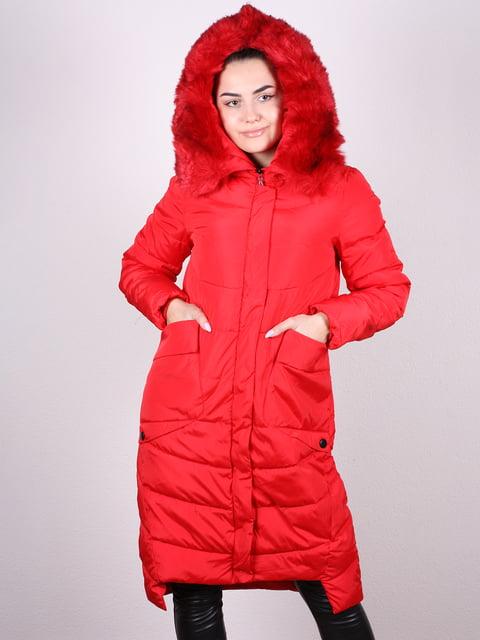Пуховик красный Artua Collection 5034332
