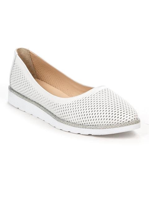 Балетки белые Guero 4915254