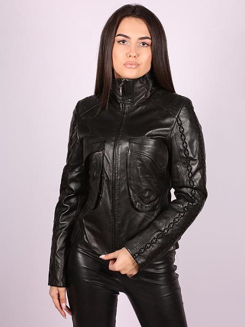 Куртка чорна Jakko 5034447