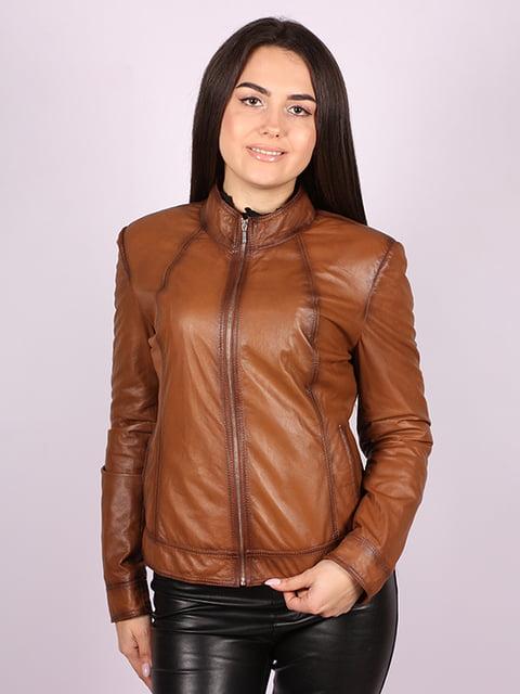 Куртка кольору віскі Jakko 5034449