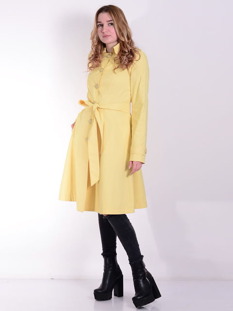 Плащ жовтий Retto 5010281