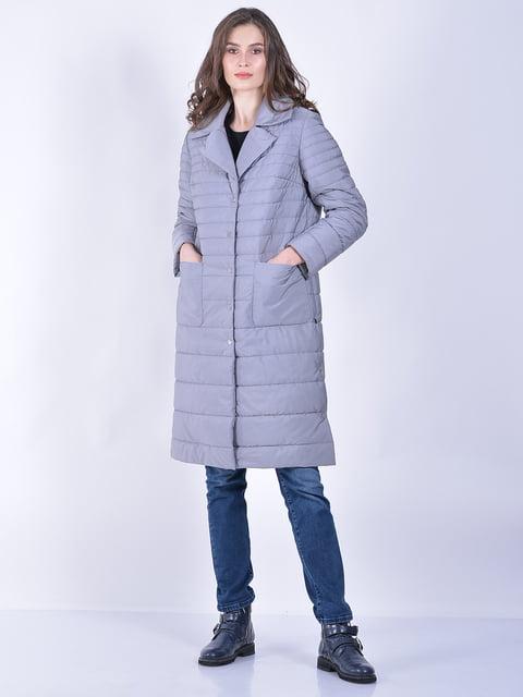 Пальто сіре Retto 5039017