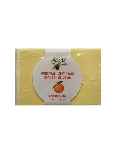Мыло растительное с апельсином и оливковым маслом Selesta 4986468
