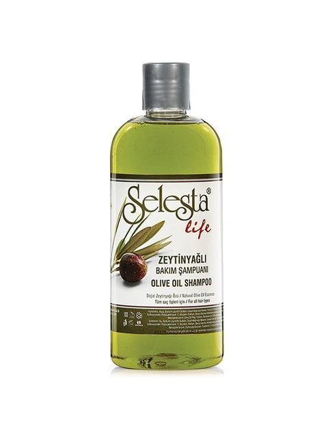 Шампунь «Интенсивный уход» с оливковым маслом Selesta 4986494