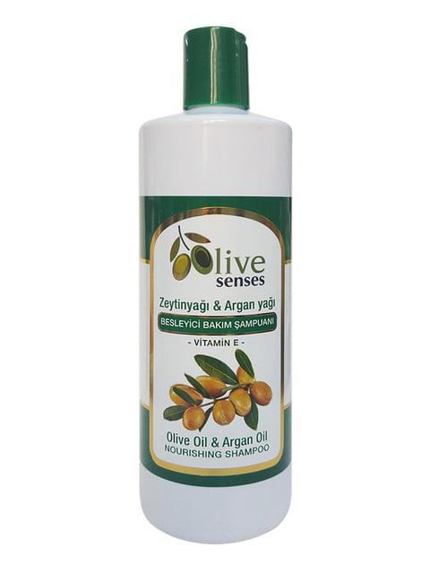 Шампунь питательный с оливковым и аргановым маслом Selesta 4986487