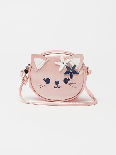 Сумка рожева декорована Oviesse 4865384