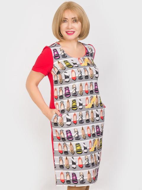 Платье в принт LibeAmore 5044224