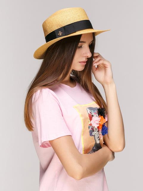 Шляпа бежевая NB 5029387