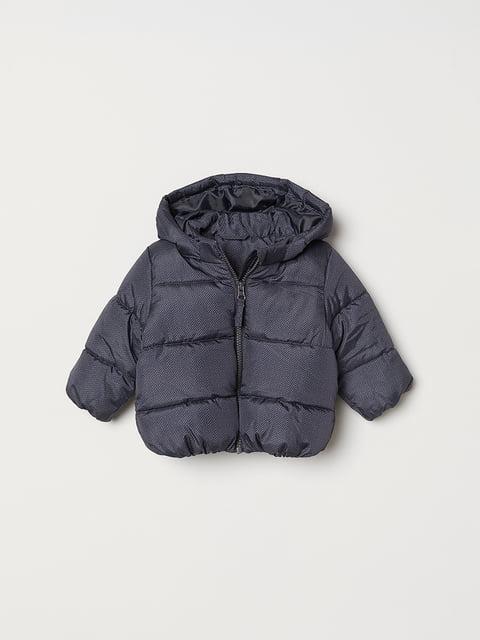 Куртка темно-синя H&M 5045972