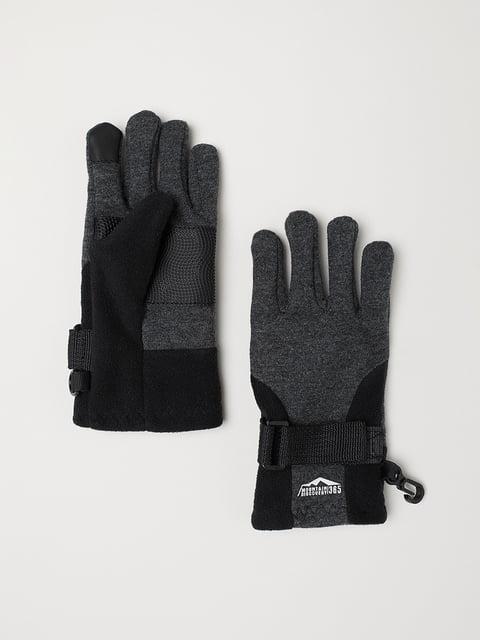 Перчатки серые H&M 5045995