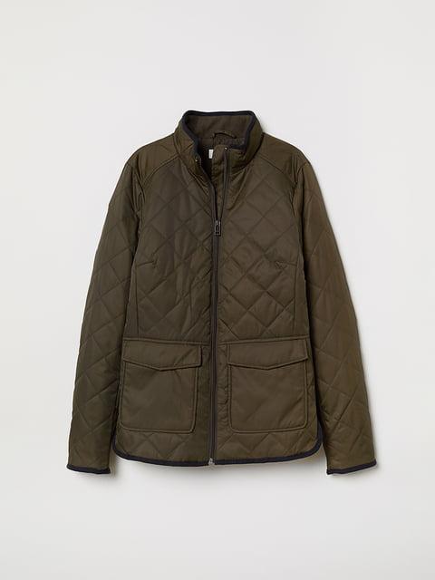 Куртка цвета хаки H&M 5046294