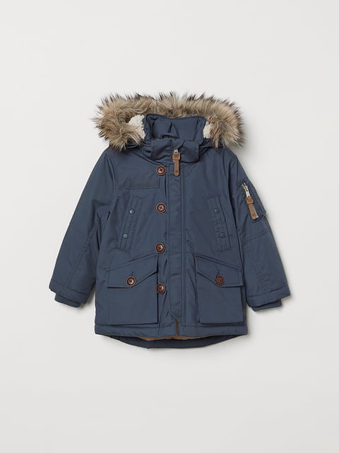 Куртка синяя H&M 5046437