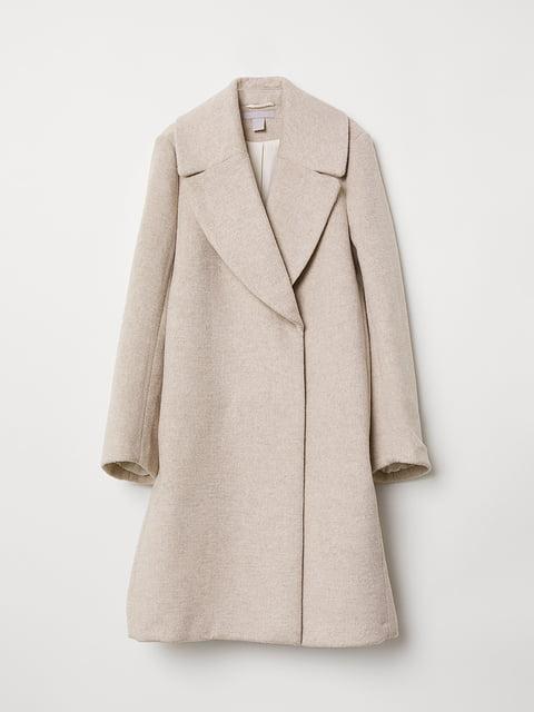 Пальто бежевое H&M 5046518