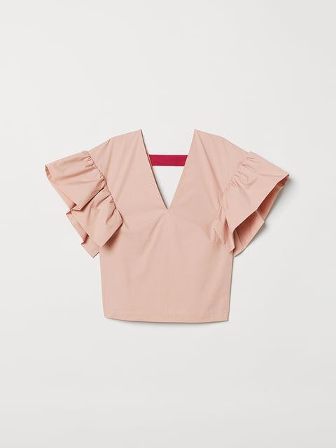 Топ рожевий H&M 5046692