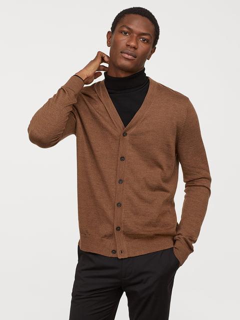 Кардиган коричневий H&M 5046775