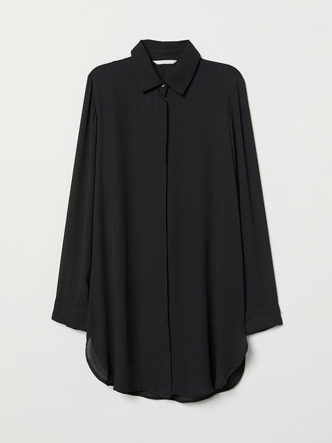 Рубашка черная H&M 5046829