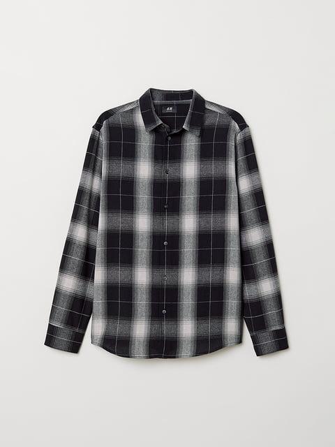 Рубашка в клетку H&M 5046834