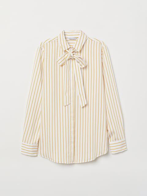 Рубашка в полоску H&M 5046962