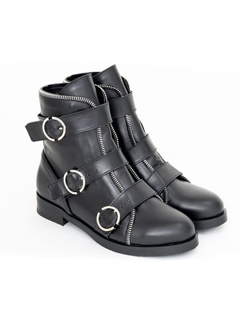 Ботинки черные Gino Figini 5043957