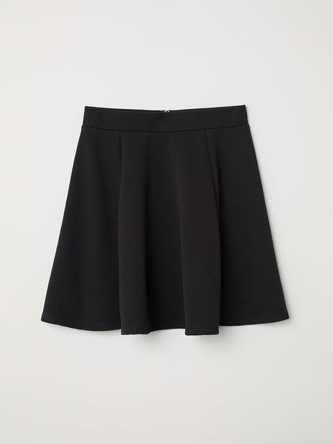 Юбка черная H&M 5045011