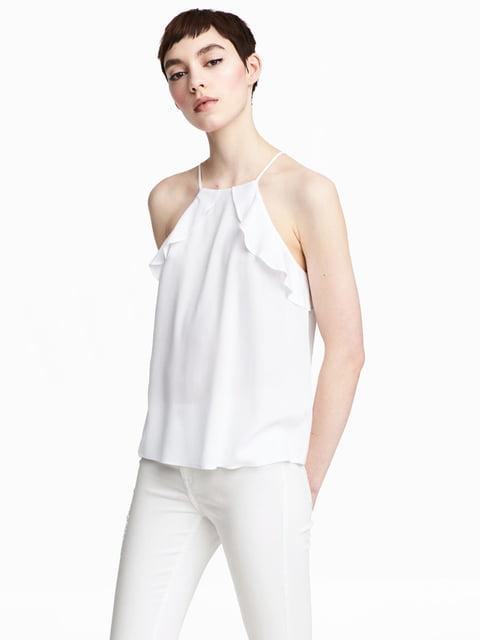 Топ білий H&M 5045288