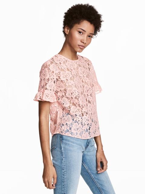 Блуза розовая H&M 5045367