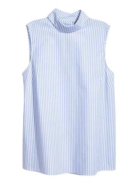 Блуза блакитна в смужку H&M 5045374