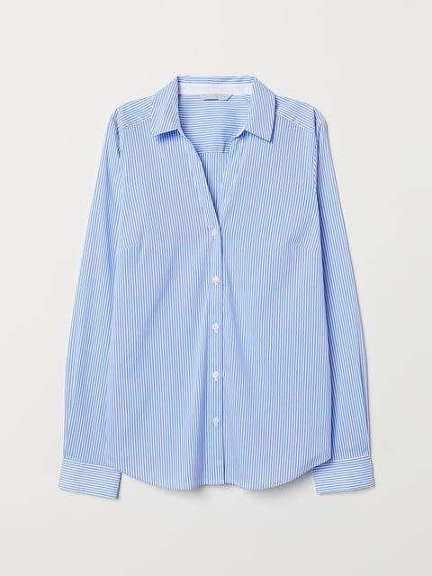 Рубашка в полоску H&M 5045398