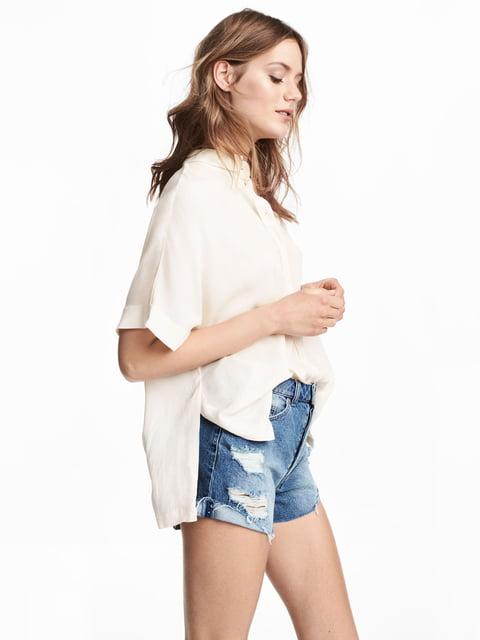 Блуза бежева H&M 5045489