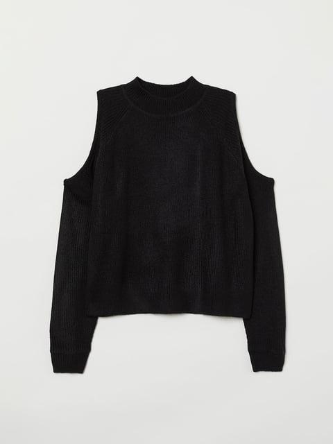 Джемпер черный H&M 5045527