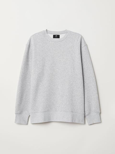 Світшот сірий H&M 5045664
